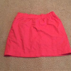 Coral J Crew Skirt